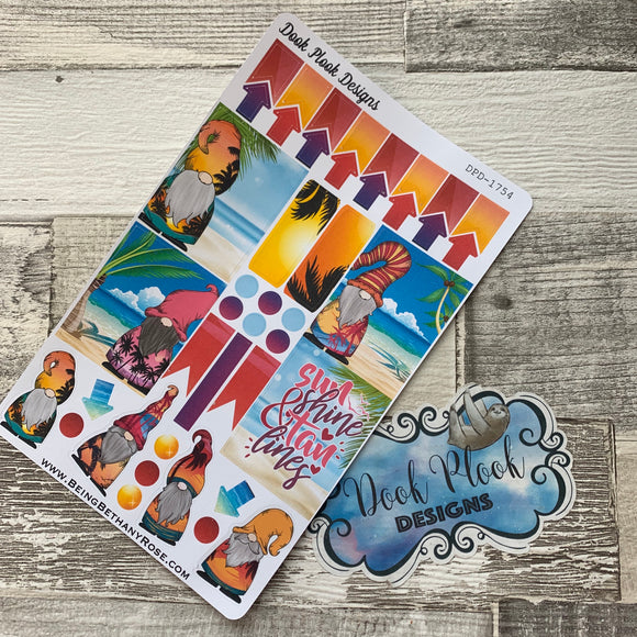 Summer Vibes Gonk functional stickers  (DPD1754)