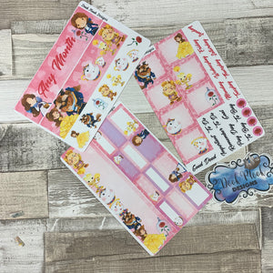 Beauty Monthly View Kit (can change month) for the Erin Condren Planners