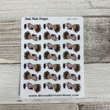 Black Woman - Hair Appointment Stickers (DPD1403)