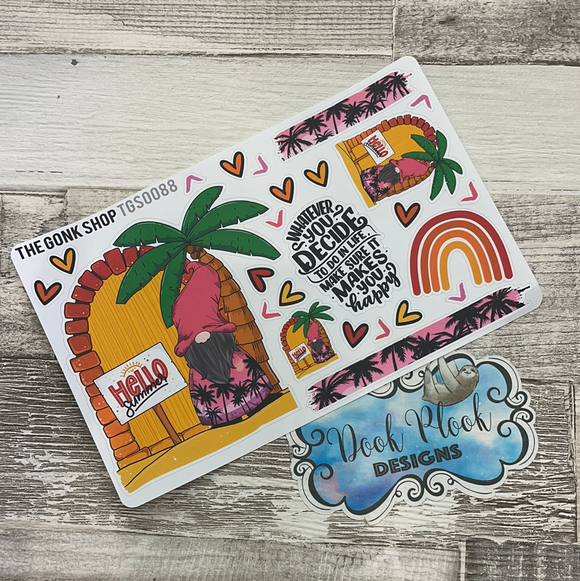 Hello Summer Stickers Basil (TGS0088)