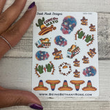 Cinco de Mayo stickers (DPD582)