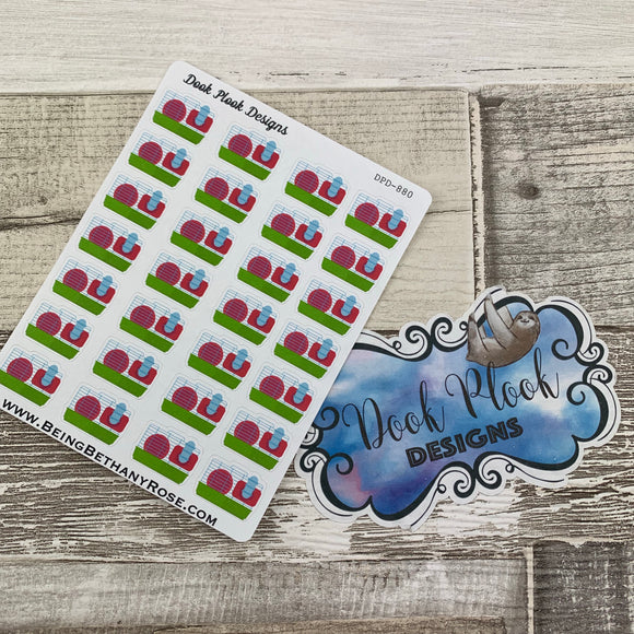 Hamster Cage stickers (DPD880)