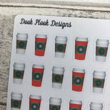 Coffee lovers stickers  (DPD313abc)
