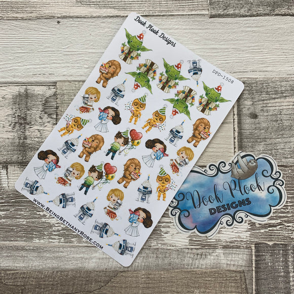 Birthday character stickers (DPD1508)