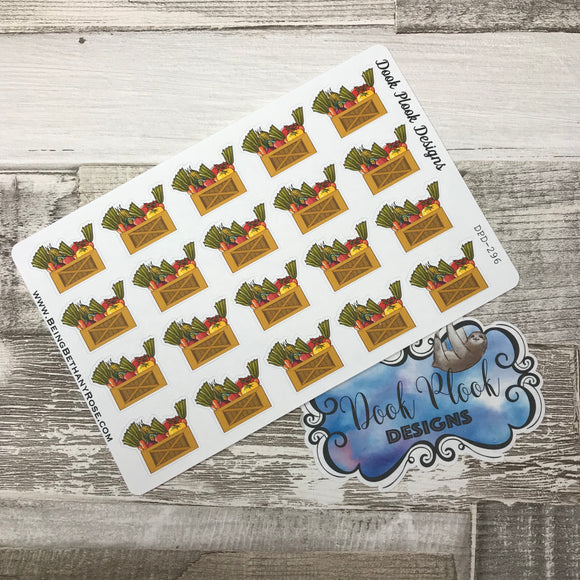 Veg box stickers  (DPD296)