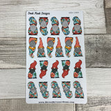 Tropic Gonk Character Stickers (Mixed DPD-1689)