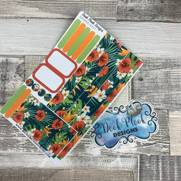Passion Planner Daily stickers - Tropics (DPDPPD-0037)