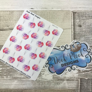 Balloon stickers (DPD513)