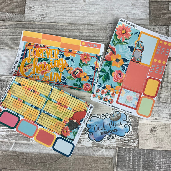 Chasing the sun Tropic Passion Planner Week Kit (DPD1693)