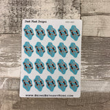 Synchronised swimming stickers (DPD662)