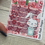 Erin Condren Month Note Pages (Rabbits)