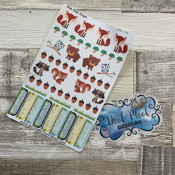 Woodland sticker set (DPD068)