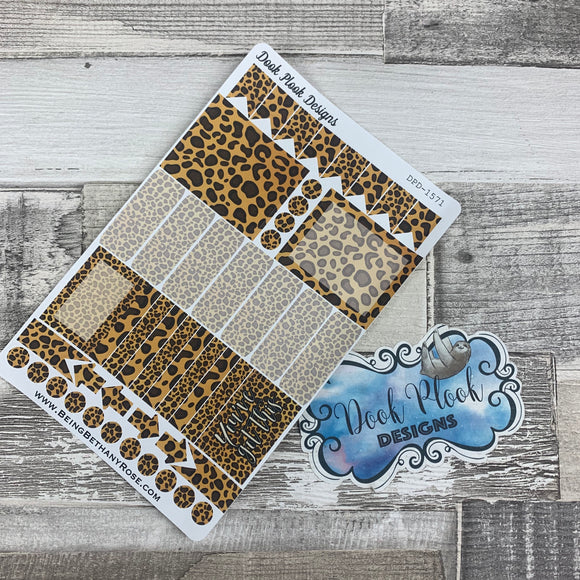 Leopard functional stickers  (DPD1571)