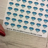 Tiny diamond stickers (Dinkies) (DPD-D006)