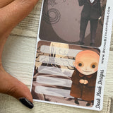 Erin Condren Month Note Pages (Goth Family)