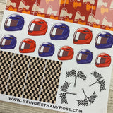 Formula 1 ( F1 )stickers  (DPD486)