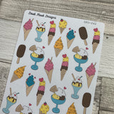 Ice cream stickers (DPD242)