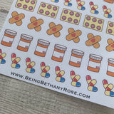Medicine / plasters / Tablets stickers  (DPD800)