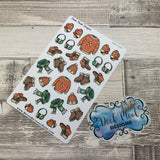 Winter clothes stickers (DPD1497)