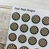 Dart board stickers (DPD510)