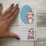 Erin Condren Month Note Pages (Sloth)