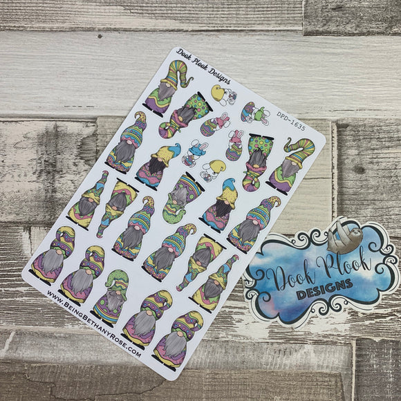 Easter Gonk Character Stickers Mixed (DPD-1635)