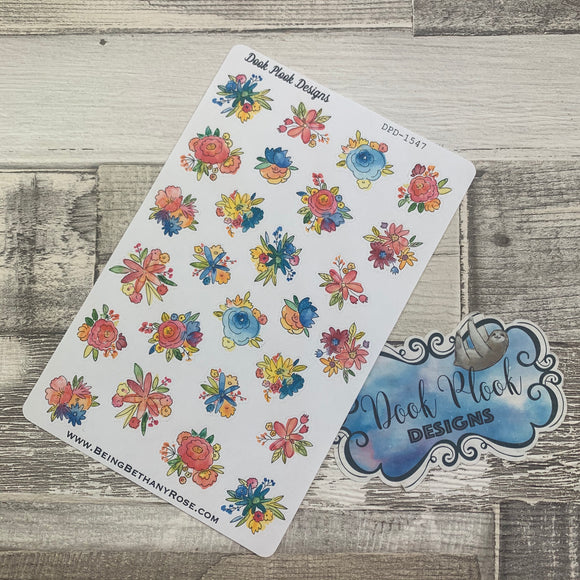 Spring Flower stickers (DPD-1547)