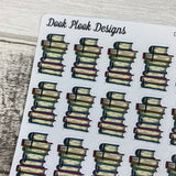 Book Stack stickers (DPD1312)