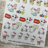 Octopus Mixed shopping stickers (DPD 1368)