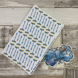 Realistic mop cleaning stickers  (DPD1019b)