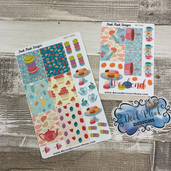 Tea party week sticker set (DPD590)