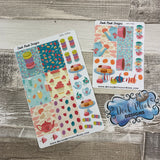 Tea party week (vertical) sticker set (DPD590)