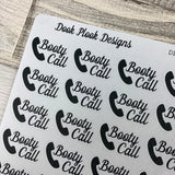 Booty Call stickers (DPD1099)
