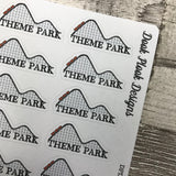 Theme park stickers (DPD1266)
