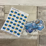 Shopping basket stickers (DPD212)