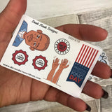 Martin Luther King Day stickers (Small Sampler Size) A78