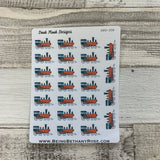Train stickers (DPD308)