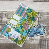 (0046) Passion Planner Daily stickers - succulents