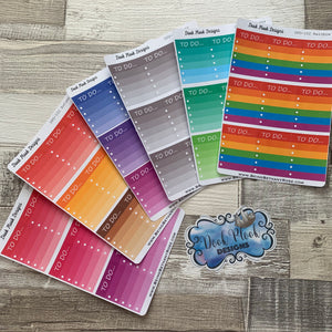To do boxes (ombre colours) for Erin Condren (DPD102)
