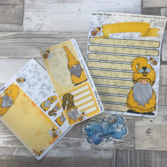 Erin Condren Month Dashboard Note Pages (Bee Gonk)