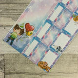 May the Force Birthday Monthly View Kit (can change month) for the Erin Condren Planners