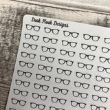 Tiny glasses stickers (Dinkies)(DPD-D002)