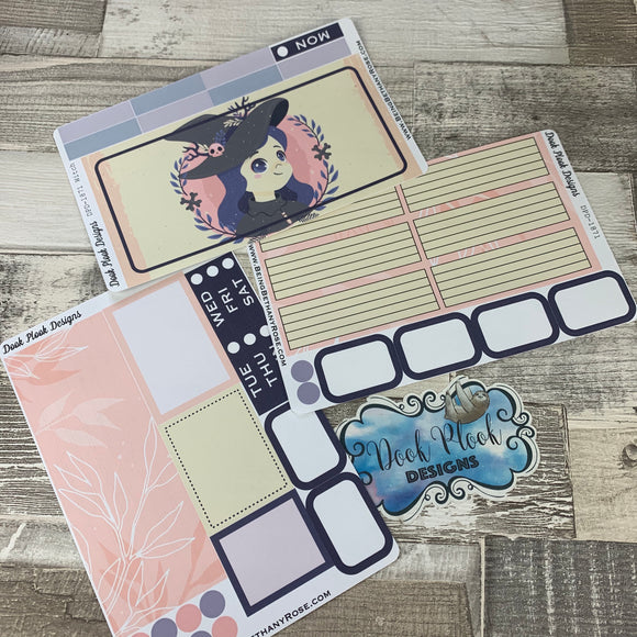 Cute Witch Passion Planner Week Kit (DPD1871W)