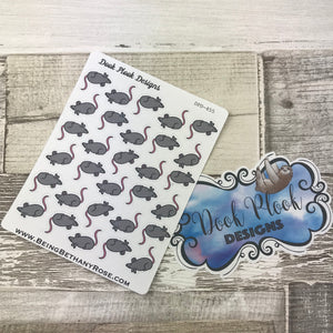 Cute rat stickers (DPD455)