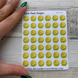 Tennis ball stickers (DPD125)
