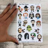 Halloween / Horror character stickers (DPD1481)