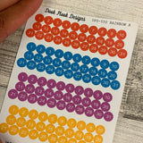 Quarter inch date dot stickers (DPD550)