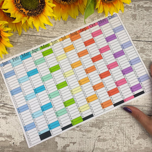 2020 Year at a glance calendar *INSTANT DOWNLOAD*