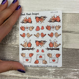 Love birds / romance stickers (DPD1298)