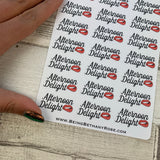 Afternoon Delight stickers  (DPD1098)